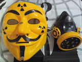 Gas Mask Gasmask Biohazard Custom Mask Hand Painted Guy Fawkes Anonymous