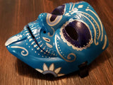 Anonymous Mardi Gras Sugar Skull Custom Mask Hand Painted Guy Fawkes Anon