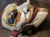 Carnival SteamPunk Custom Mask Hand Painted Guy Fawkes