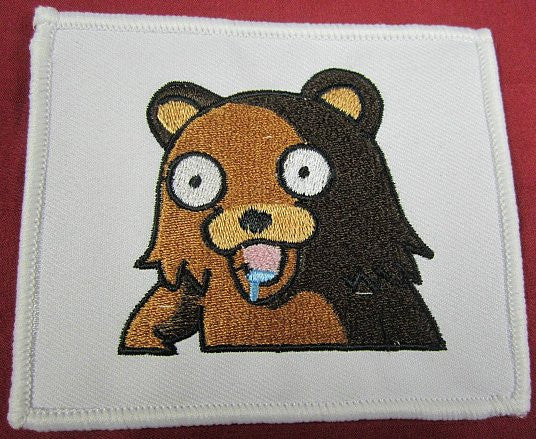 4chan Drooling Bear Patch