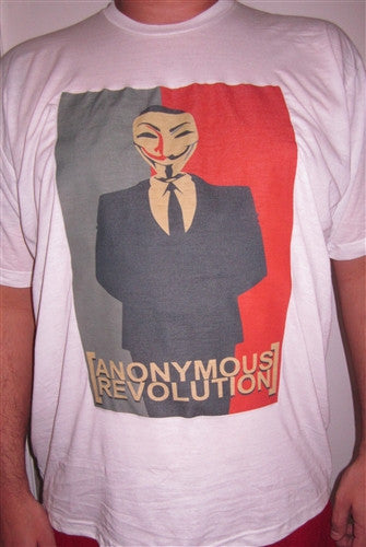 Anonymous Revolution T-shirt