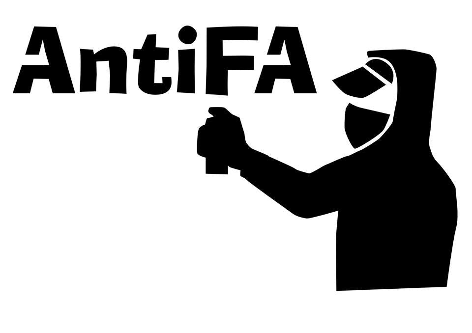 AntiFA - Die Cut Vinyl Sticker Decal