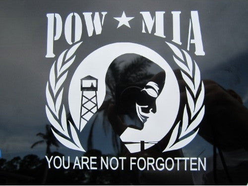 FreeAnons POW/MIA | Die Cut Vinyl Sticker Decal