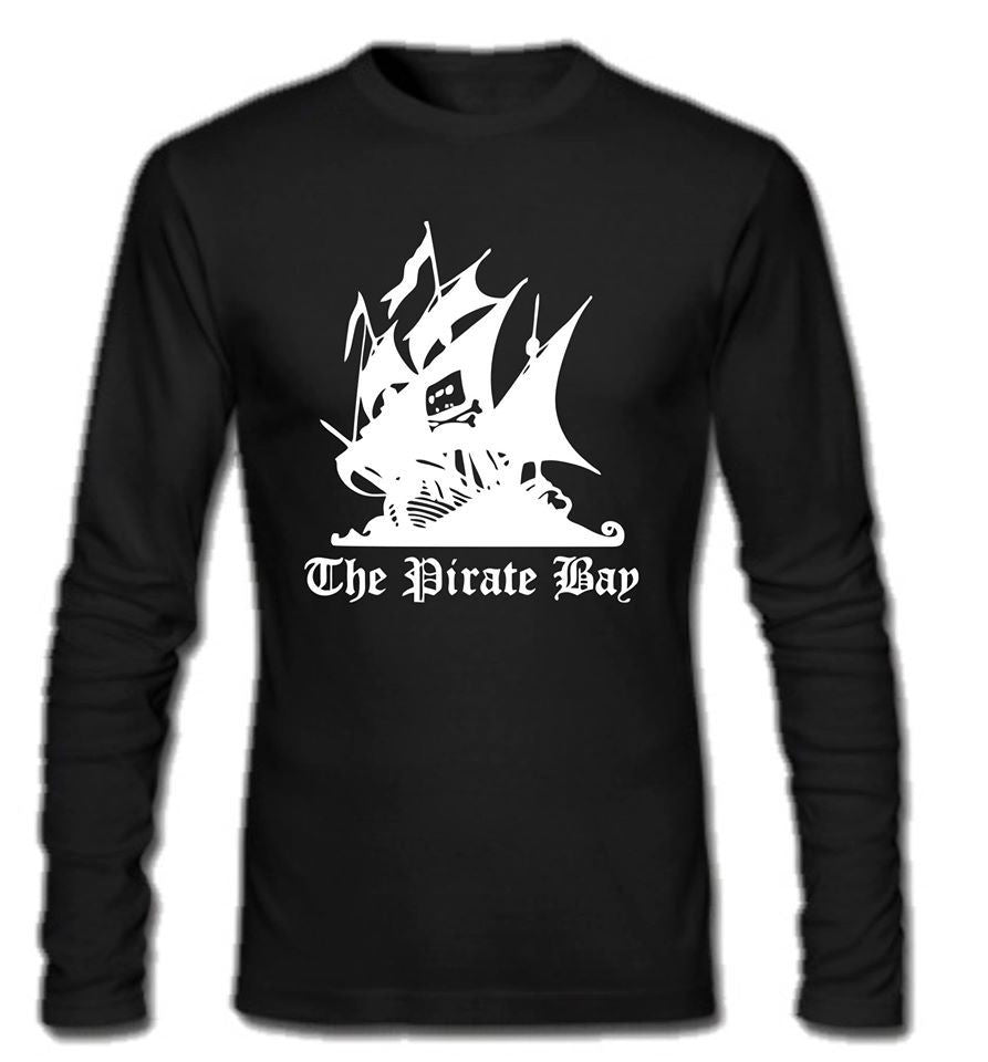 The Pirate Bay Long Sleeve T-shirt