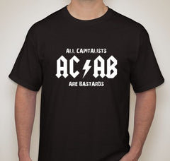 ACAB All Capitalists Are Bastards T-shirt