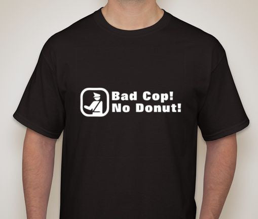 ACAB Bad Cop No Donut T-shirt