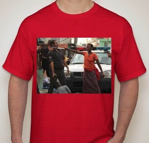 ACAB Mother Protecting Son Machete T-shirt