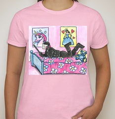 ACAB Riot Police Princess Women T-shirt | Dan Bellini Occupy Art
