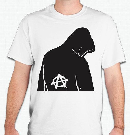 Anarchist In Hoodie T-shirt