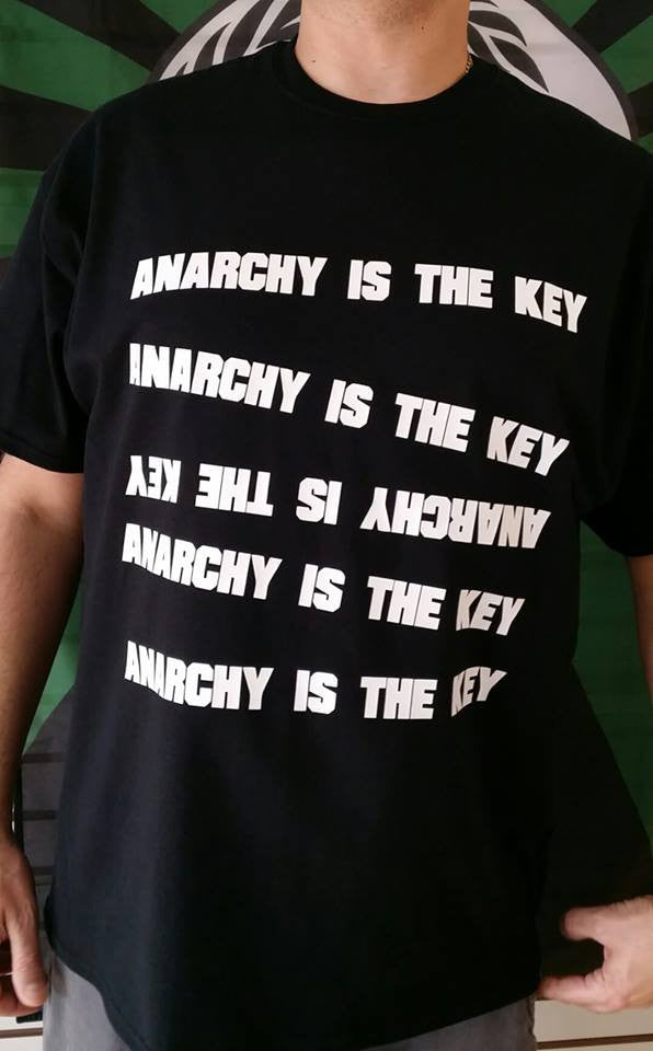 Anarchy Is The Key T-shirt