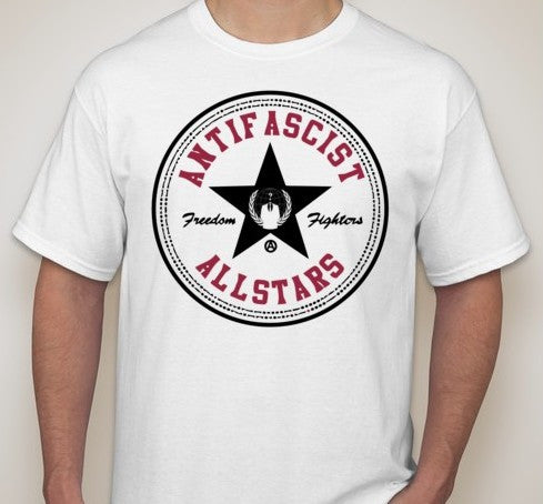 Anonymous Antifascist Allstars T-shirt
