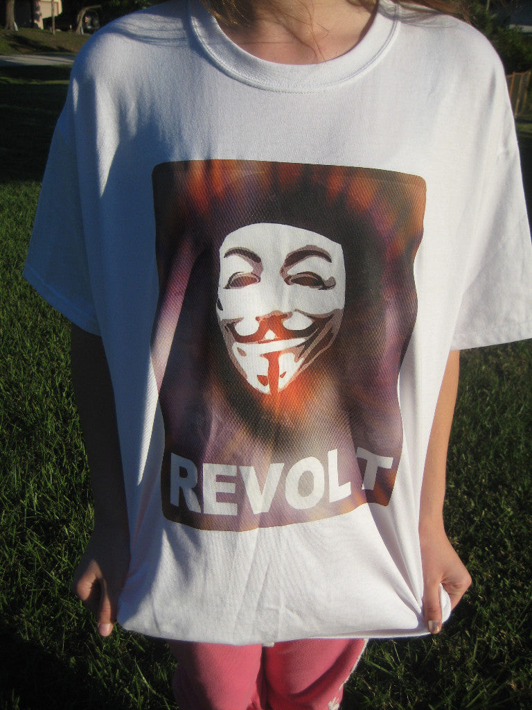 Anonymous Che Guevara Revolt T-Shirt
