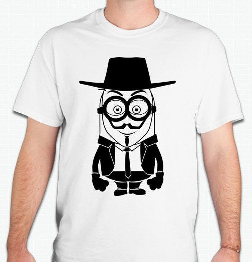Anonymous Minion Vendetta Guy Fawkes T-shirt
