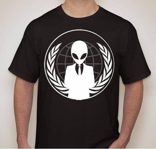 Anonymous Alien T-shirt