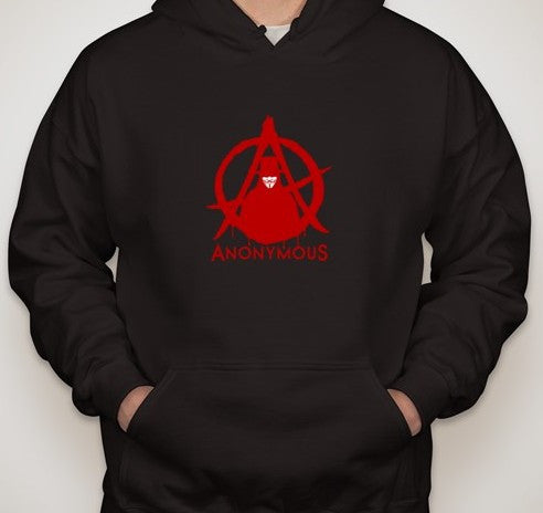 Anonymous Guy Fawkes Anarchy Hoodie