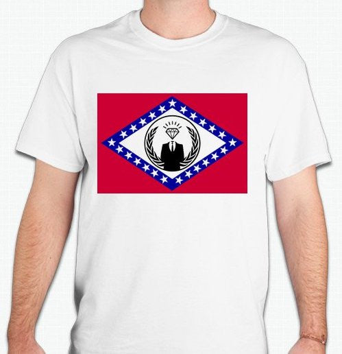 Anonymous Arkansas T-shirt