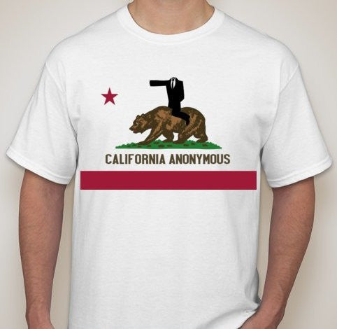 Anonymous California T-shirt