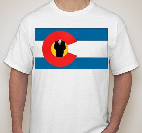 Anonymous Colorado T-shirt