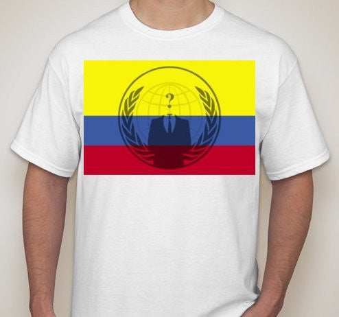 Anonymous Columbia T-shirt