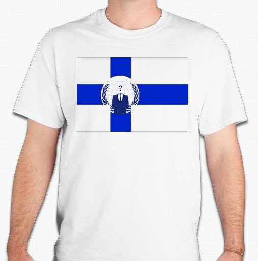 Anonymous Finland T-shirt