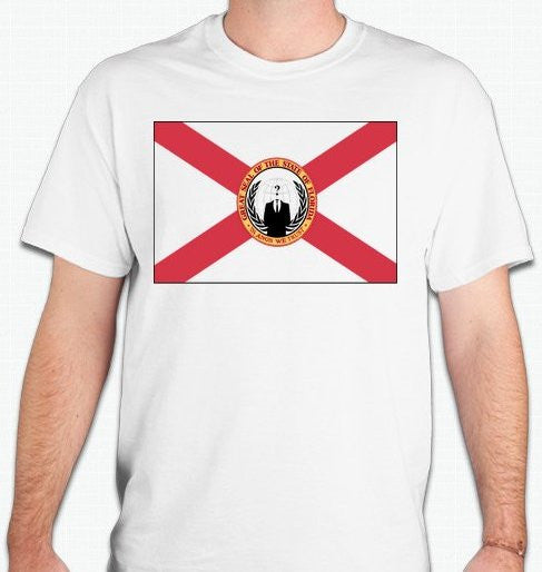 Anonymous Florida T-shirt