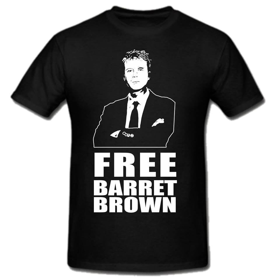 Free Barrett Brown T-Shirt