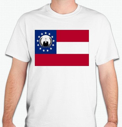 Anonymous Georgia T-shirt