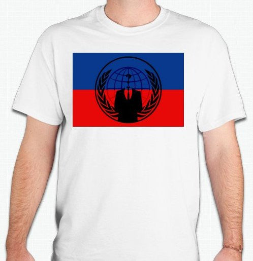Anonymous Haiti T-shirt
