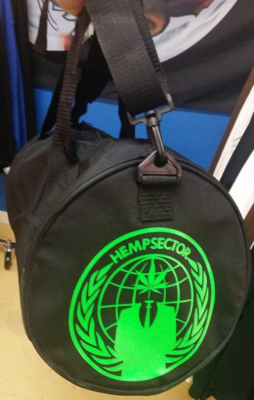 Anonymous Hempsector Green Weed Crest Bag 420