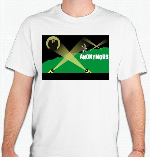 Anonymous Hollywood T-shirt