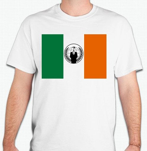 Anonymous Ireland T-shirt