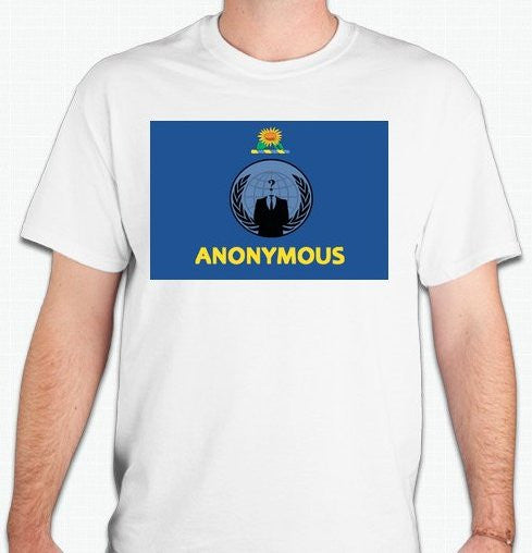 Anonymous Kansas T-shirt
