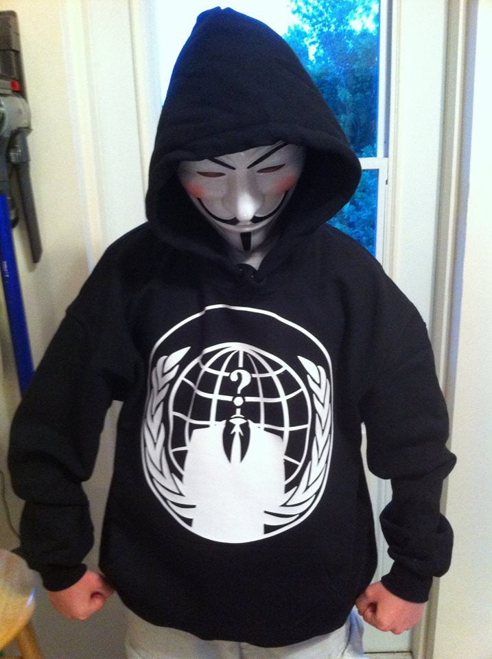 Anonymous Logo Hoodie