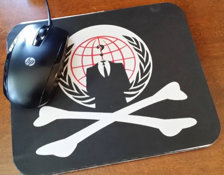 Anonymous Mouse Pad | Pirate
