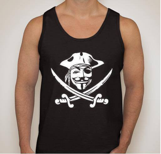 Anonymous Pirate Tank Top