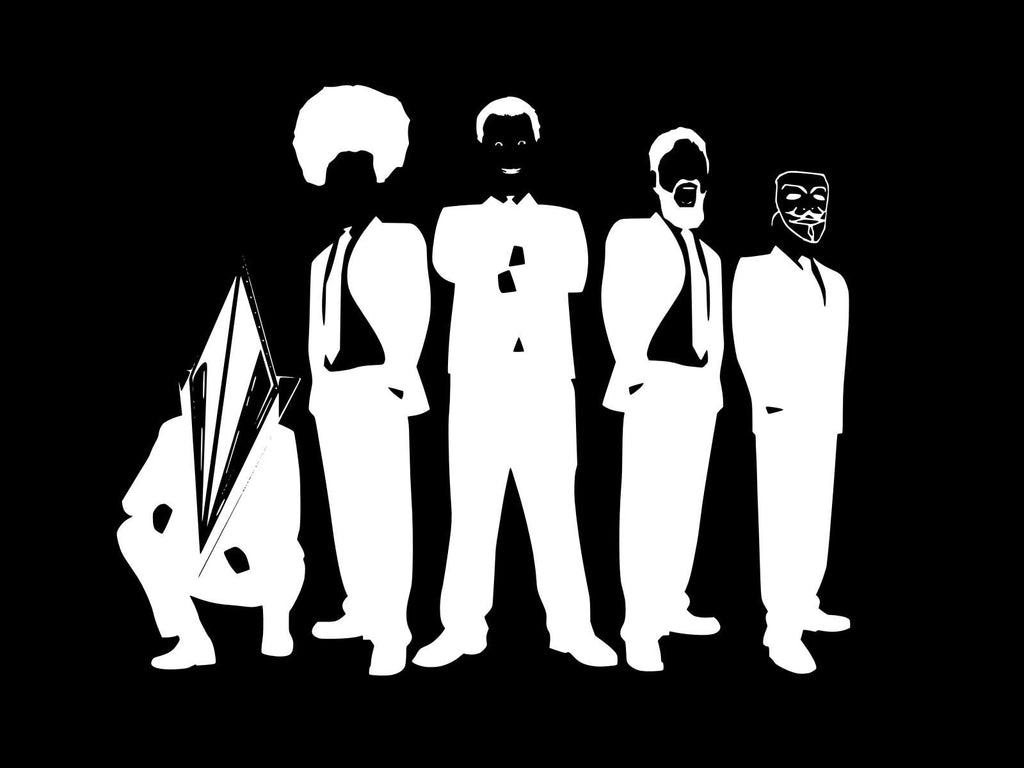 Anonymous Reservoir Dogs | Die Cut Vinyl Sticker Decal