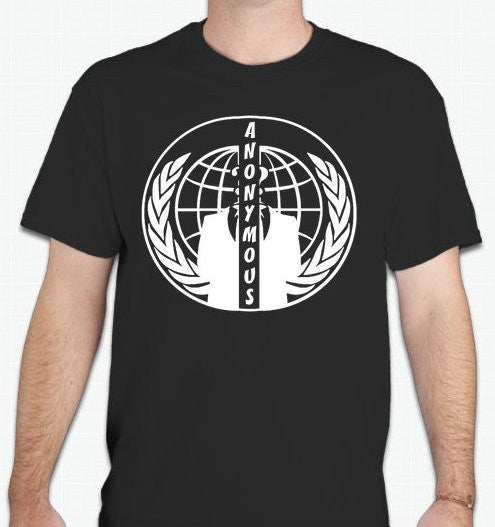 Anonymous Split Crest T-shirt