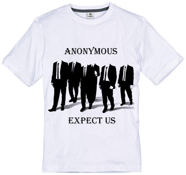 Anonymous Expect Us T-shirt