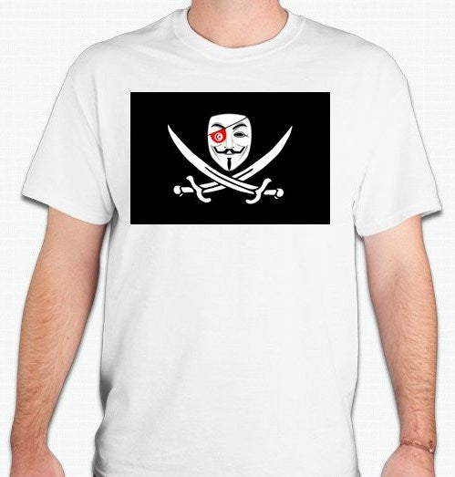 Anonymous Tunisia T-shirt
