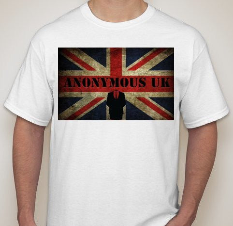 Anonymous UK Grunge T-shirt