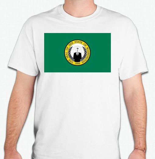 Anonymous Washington T-shirt