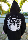 Anonymous Mask Crest 2 Sided Full-Zip Hoodie