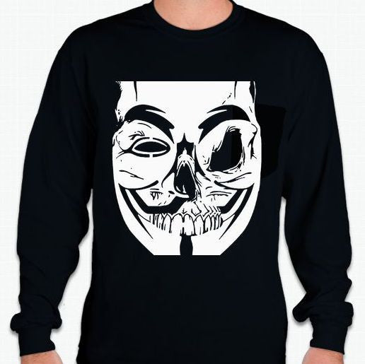 Anonymous Zombie Long Sleeve T-shirt