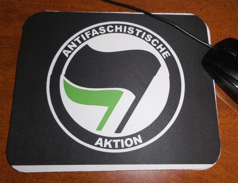 Antifaschistische Aktion Mouse Pad