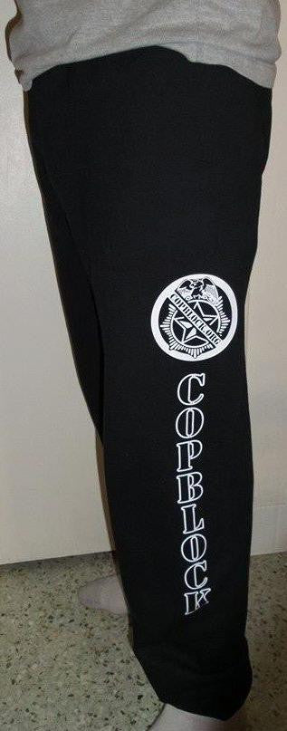 CopBlock Sweatpants One Sided Open Loose Bottom