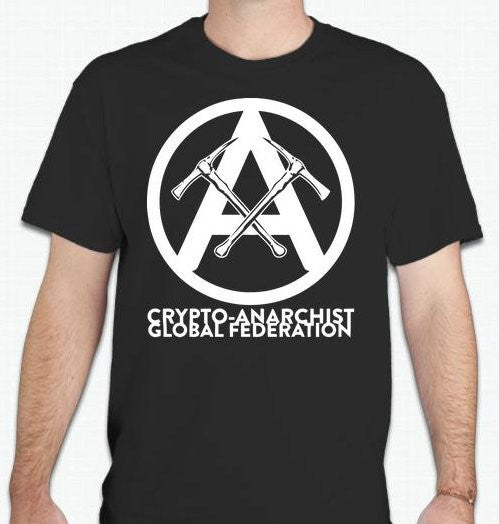 Crypto-Anarchist Global Federation T-shirt