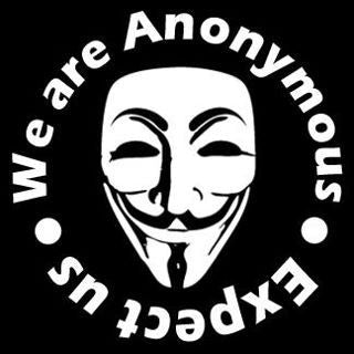 We Are Anonymous - Expect Us - Die Cut Vinyl Sticker Decal