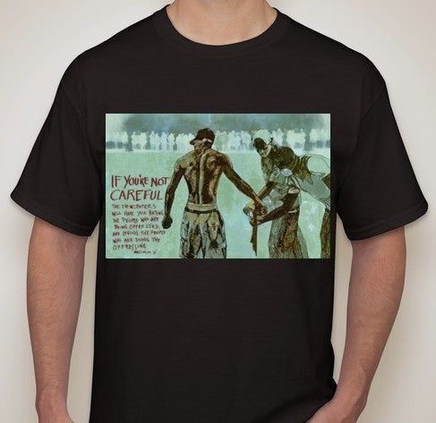 ACAB Ferguson Newspapers Will Have You Hating The Oppressed Malcolm X T-shirt