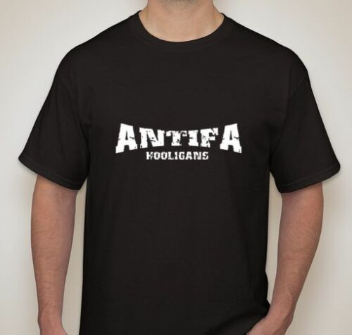 Antifa Hooligans Allstars Graffiti T shirt Tee Protest Riot