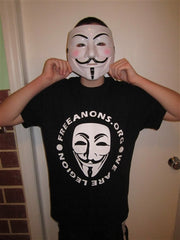 Anonymous FreeAnons.org | We Are Legion T-shirt